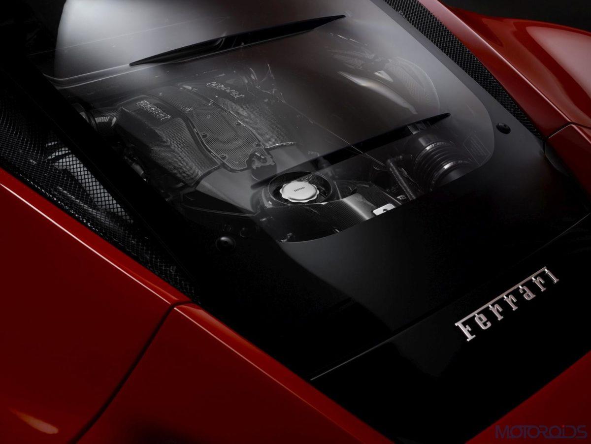Ferrari F8 Tributo Lexon Glass