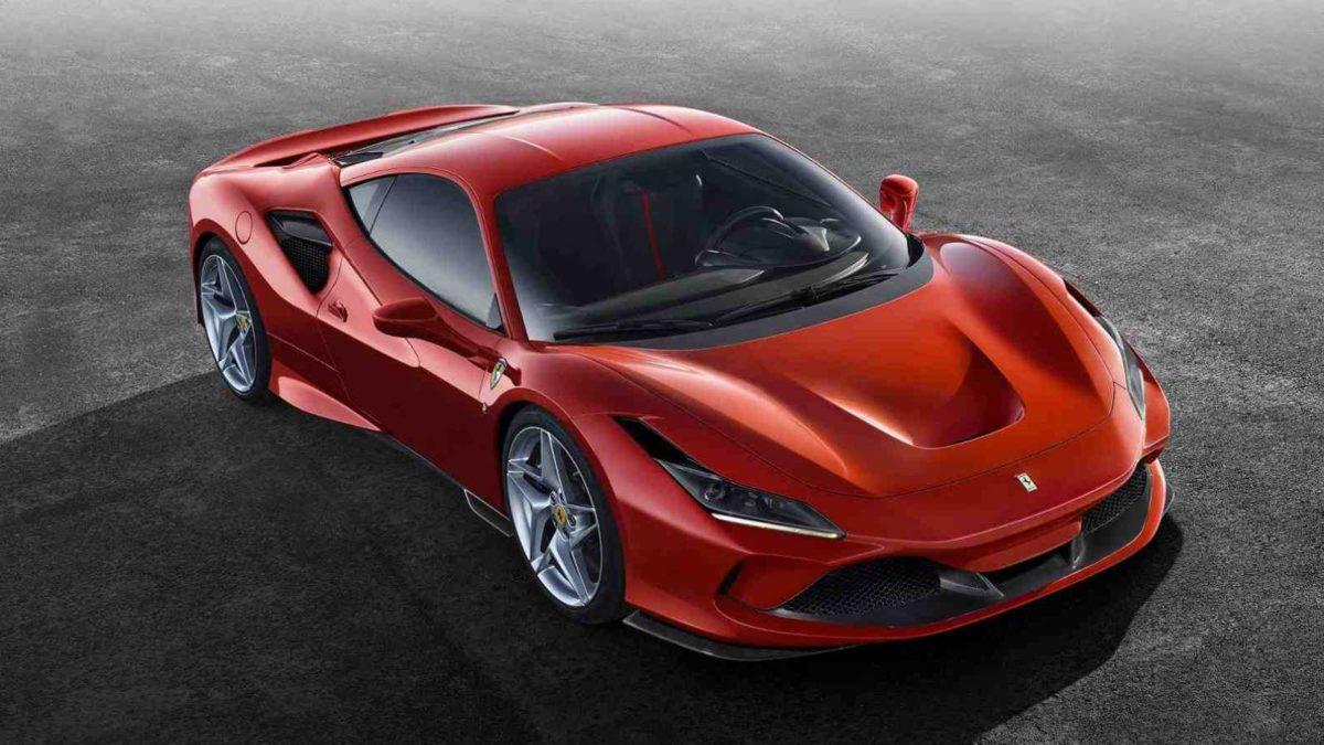 Ferrari F8 Tributo Top View