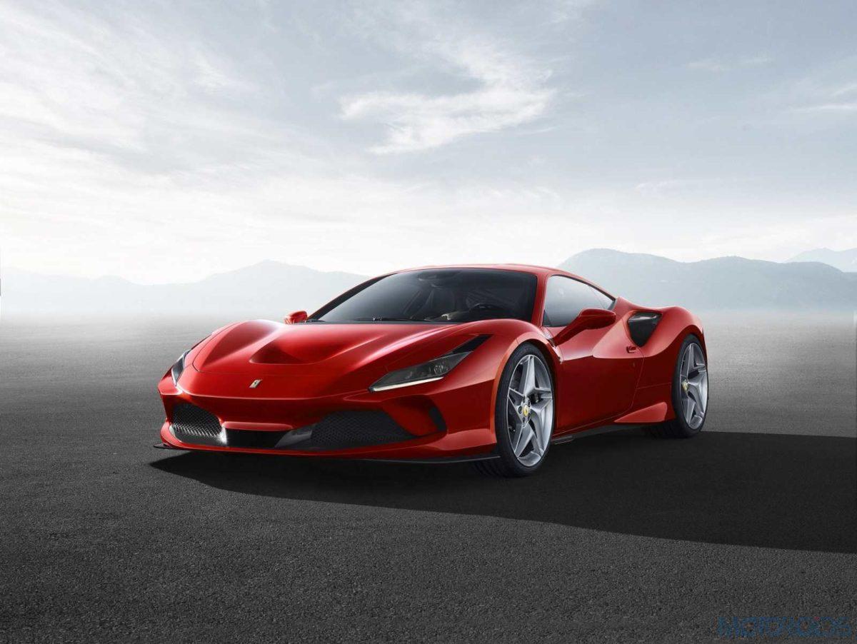 Ferrari F8 Tributo low