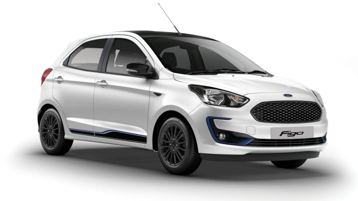 Ford Figo Blu front quarter