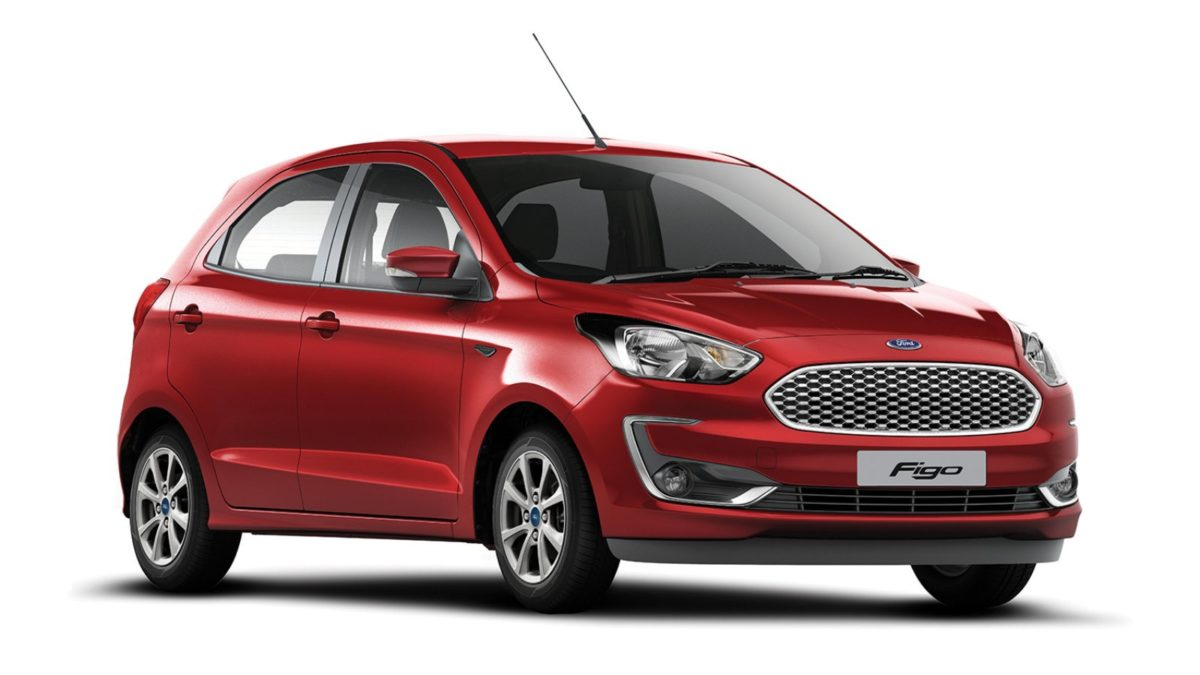 Ford Figo TItanium front quarter