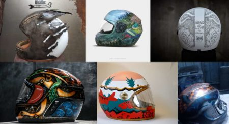This Custom Helmet Art Exhibition Aims to Promote Road Safety in India