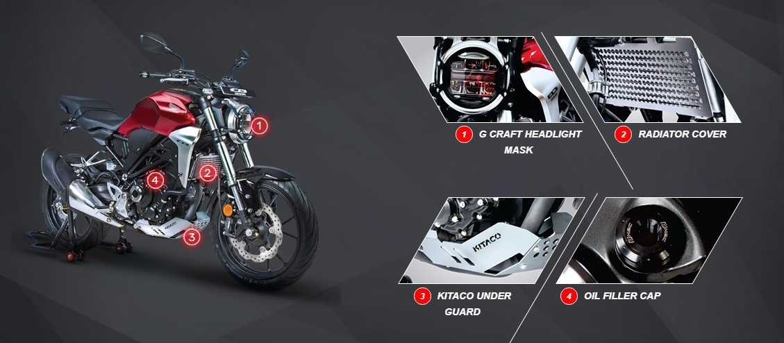 Honda CB300R Accessories