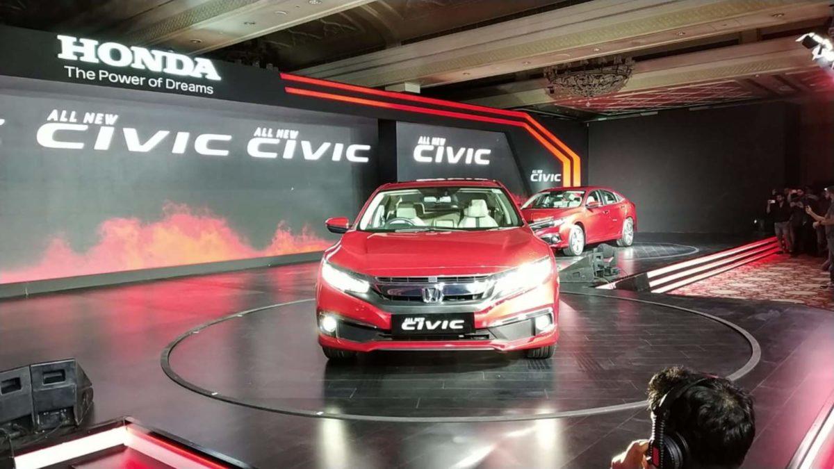 Honda Civic launch India