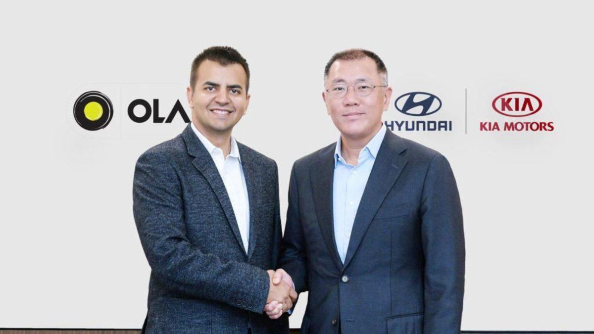 Hyundai and Kia invest in Ola