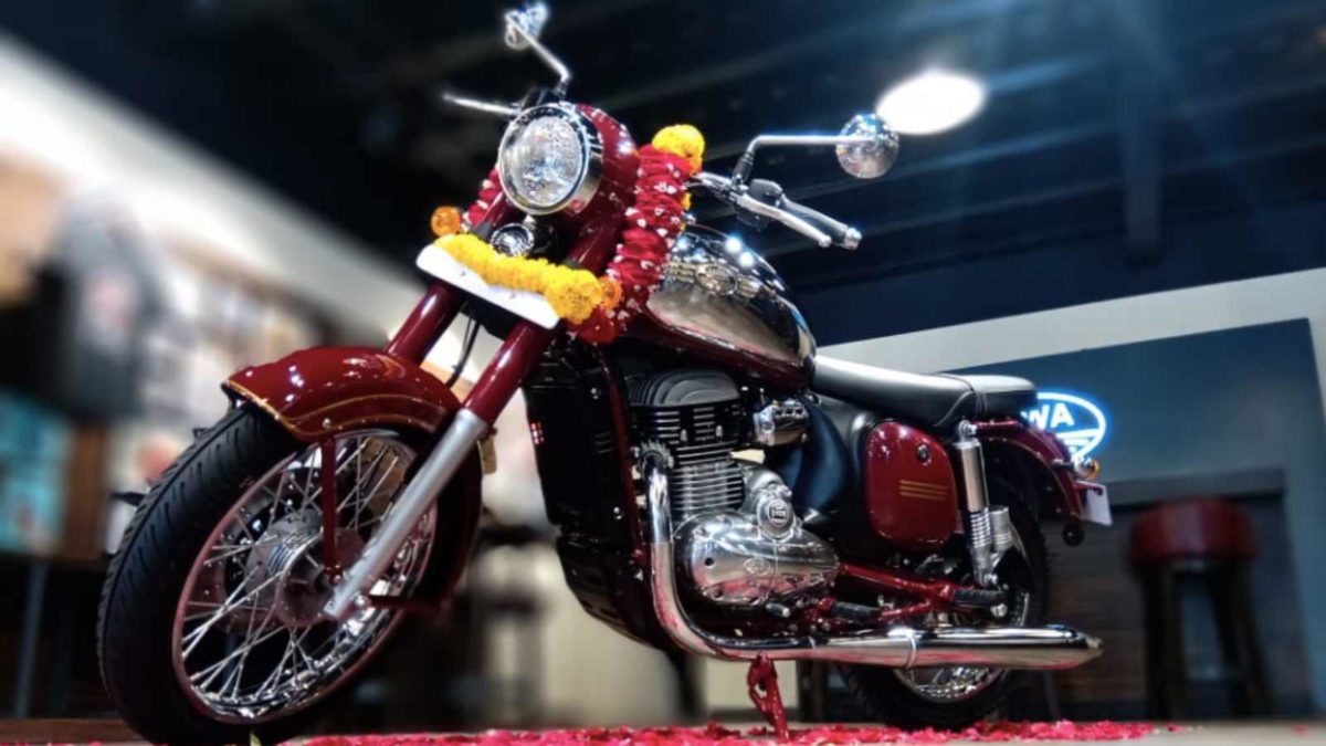 Jawa special edition auctioned off