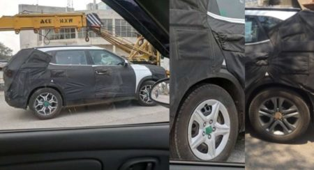 Kia SP2i Spied Once Again, Gets Two Alloy Wheel Designs