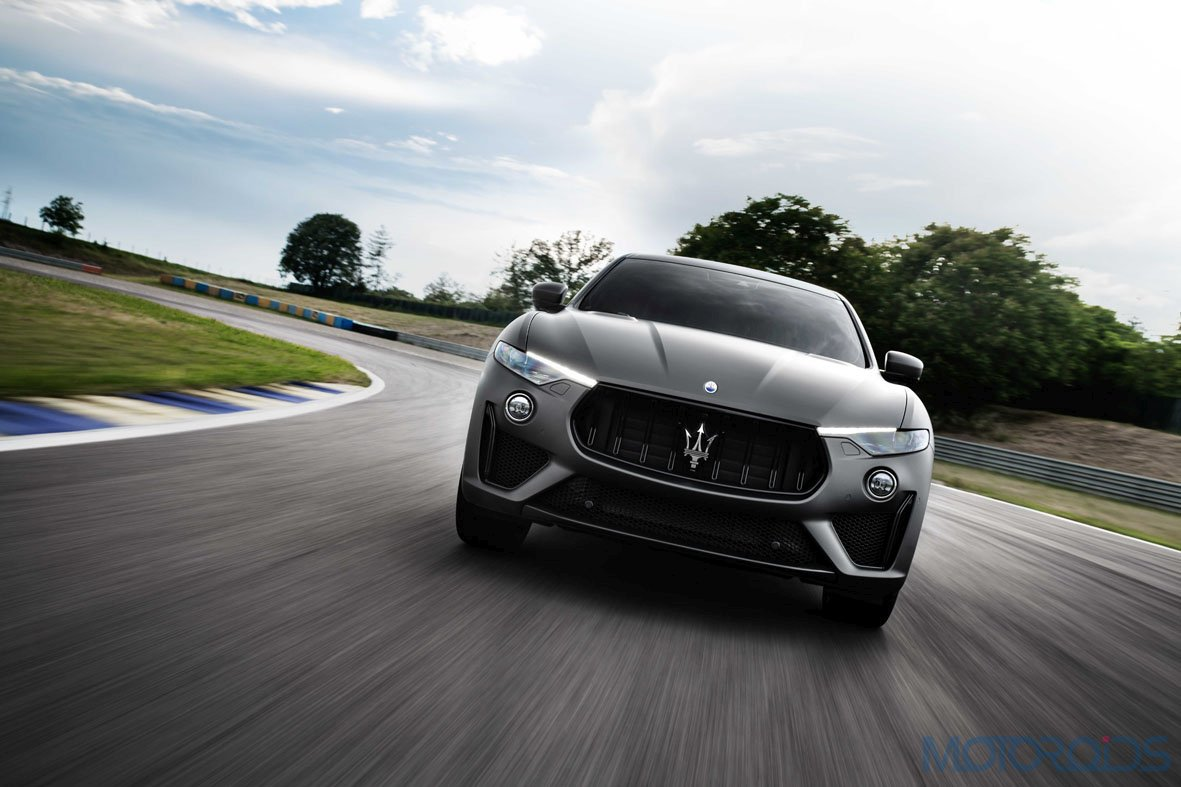 Maserati Levante Trofeo in motion low
