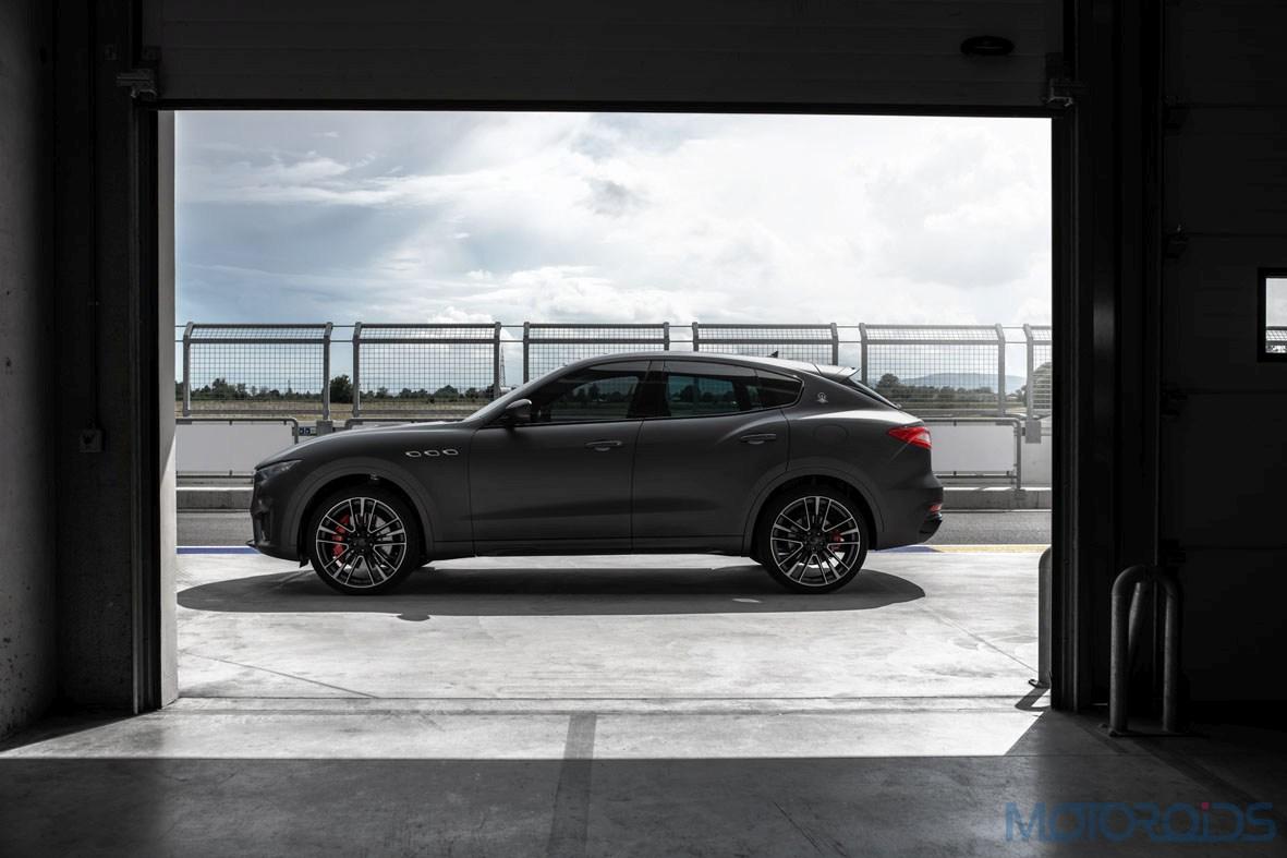 Maserati Levante Trofeo side profile