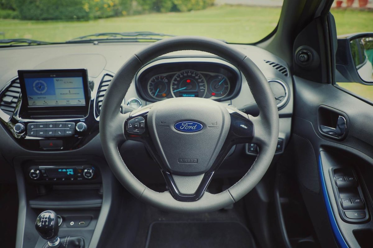 New Ford Figo Interiors cockpit