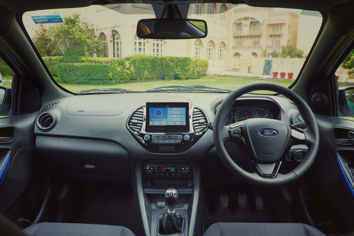 New Ford Figo Interiors dashboard