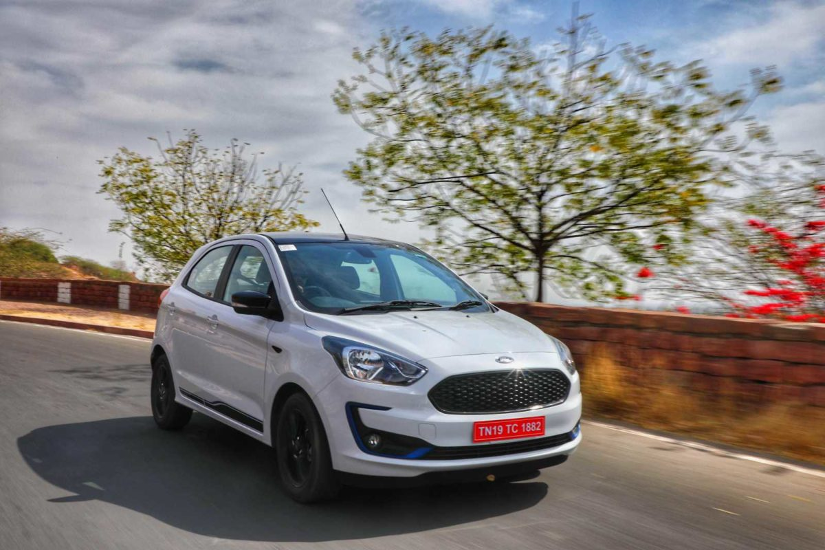 New Ford Figo action shot