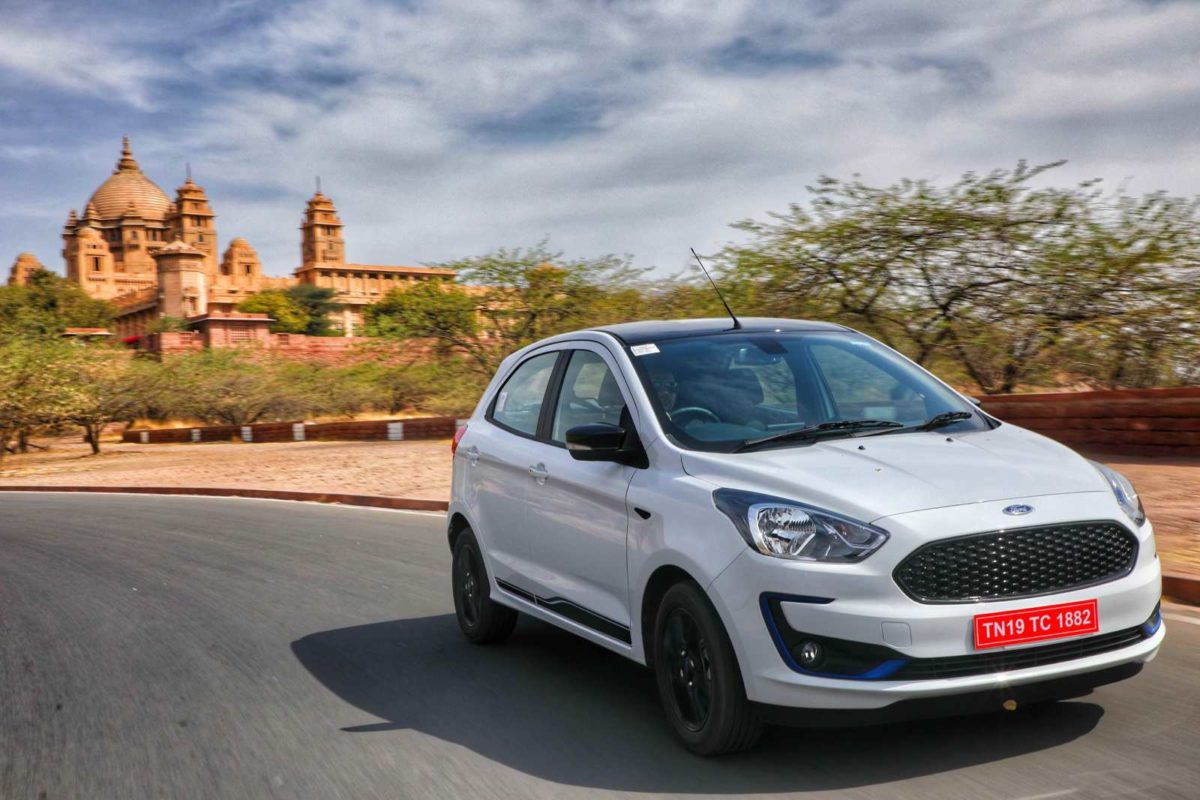 New Ford Figo corner right