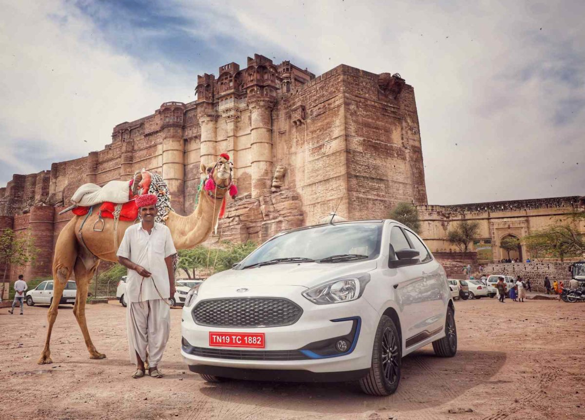 New Ford Figo fascia