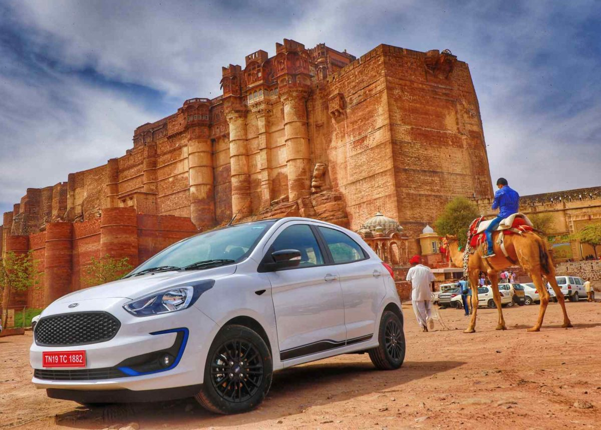 New Ford Figo fort backdrop