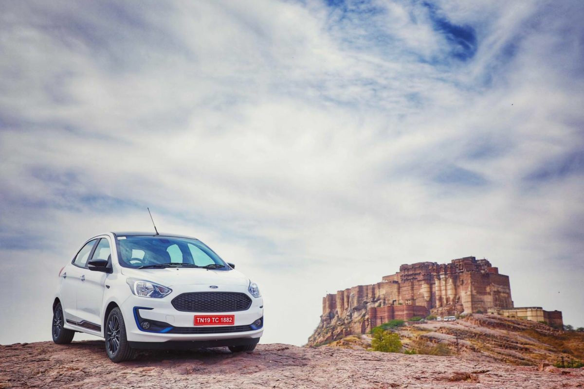 New Ford Figo right three quarters