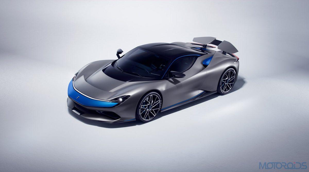 Pininfarina Batista blue and grey