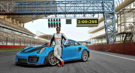 Porsche 911 GT2 RS Smashes Lap Record at the Buddh International Circuit