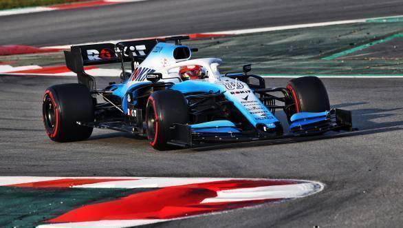 ROKit Williams Racing team 2019 car