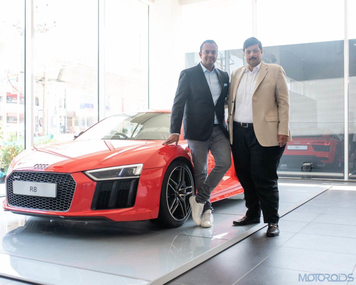 Rahil Ansari, Head, Audi India & Rajiv Sanghvi, MD, Audi Hyderabad (1)