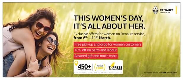 Renault International women's day