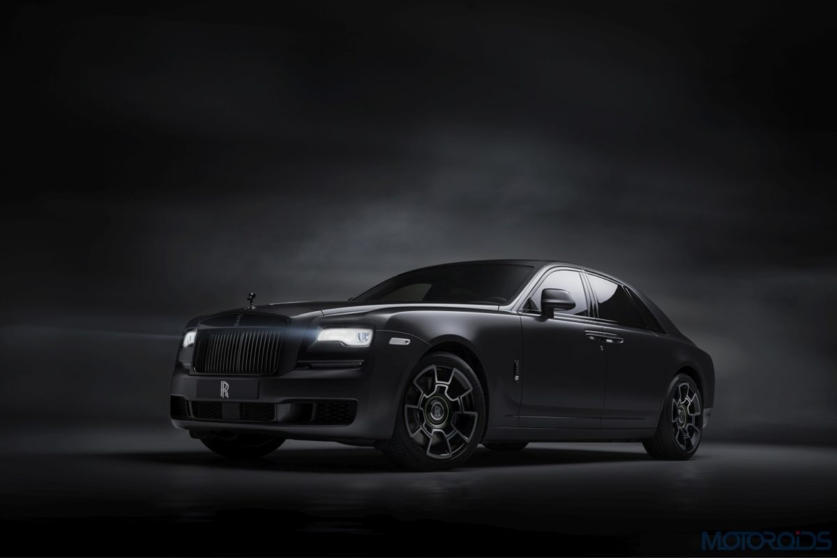 Rolls Royce Black Badge Front
