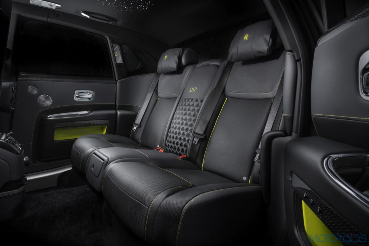 Rolls Royce Black Badge cabin