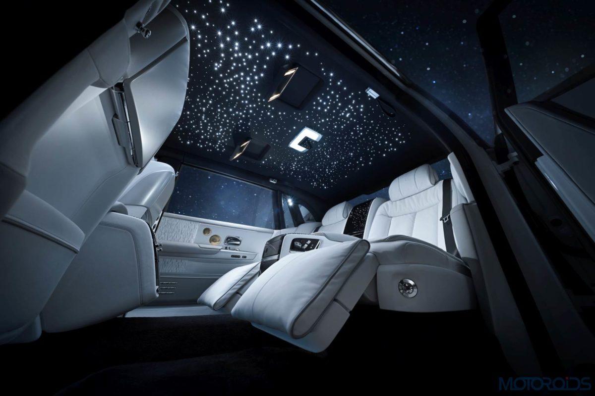 Rolls Royce Phantom Tranquility roof