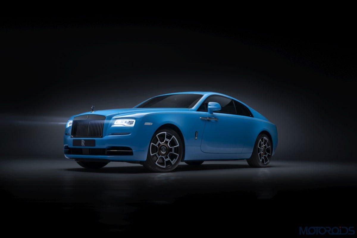 Rolls Royce Wraith Roofline geneve