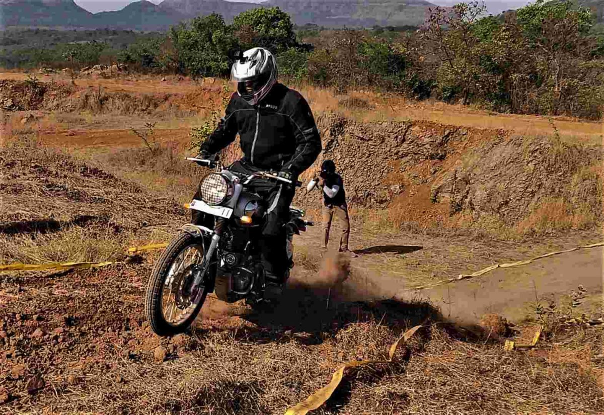 Royal Enfield Bullet Trials offroad