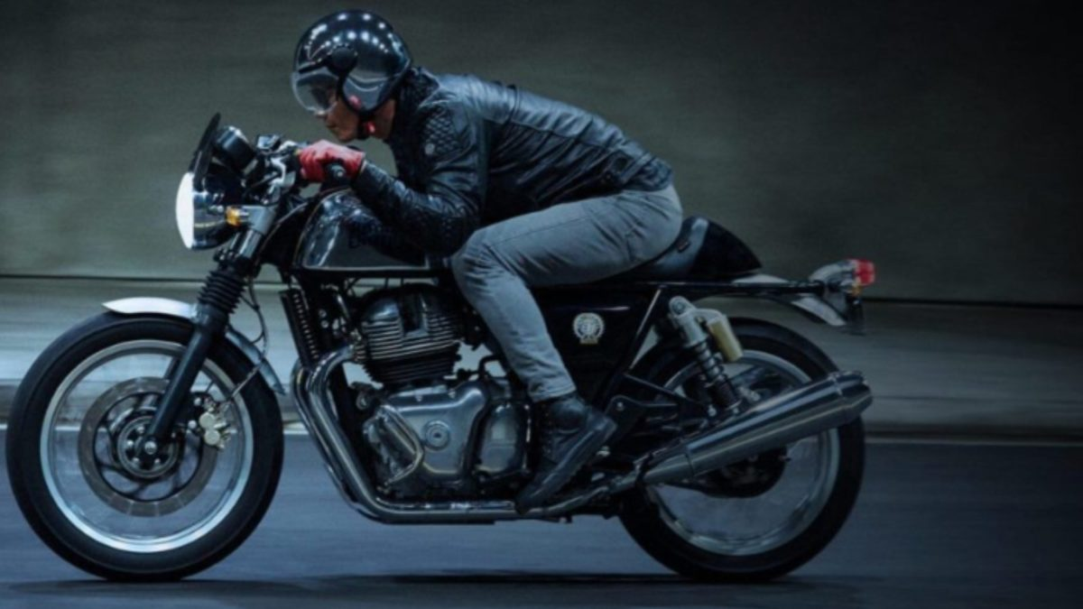 Royal Enfield Continental GT 650 side rolling