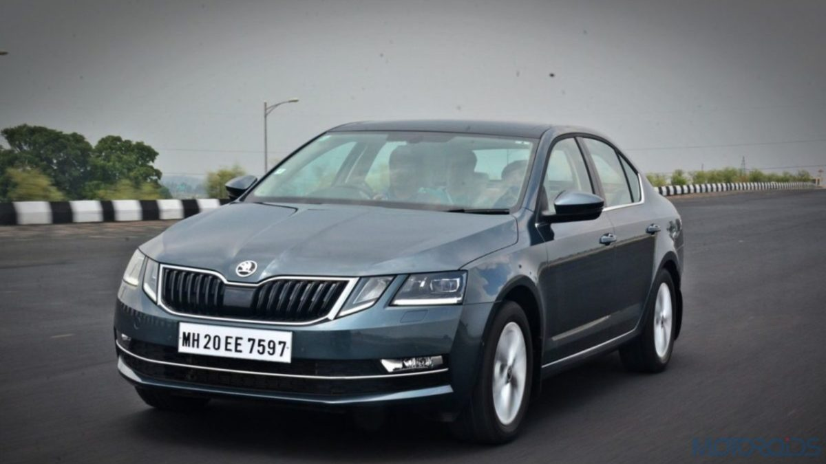Skoda Octavia Grey Metallic
