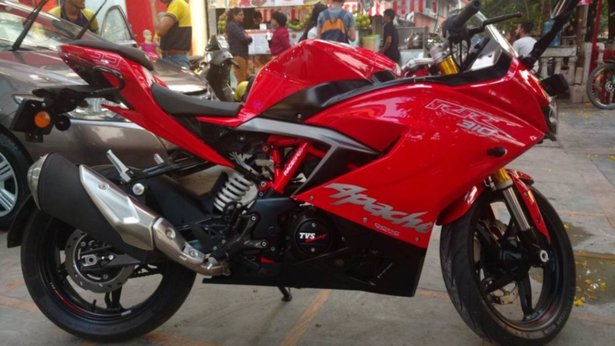 TVS Apache RR 310 side featured