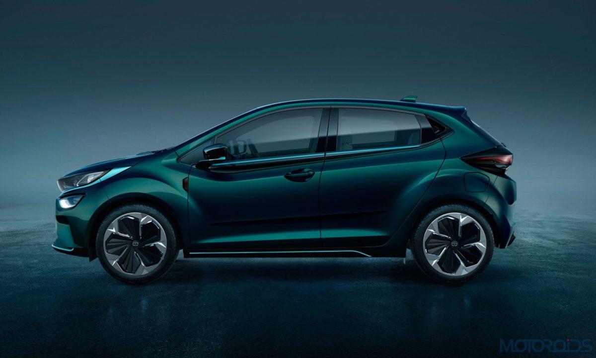 Tata Altroz EV side profile