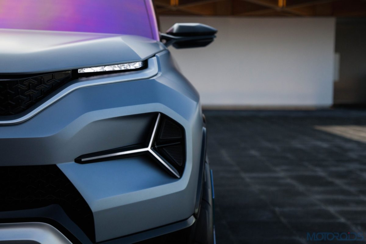 Tata H2X Concept front section