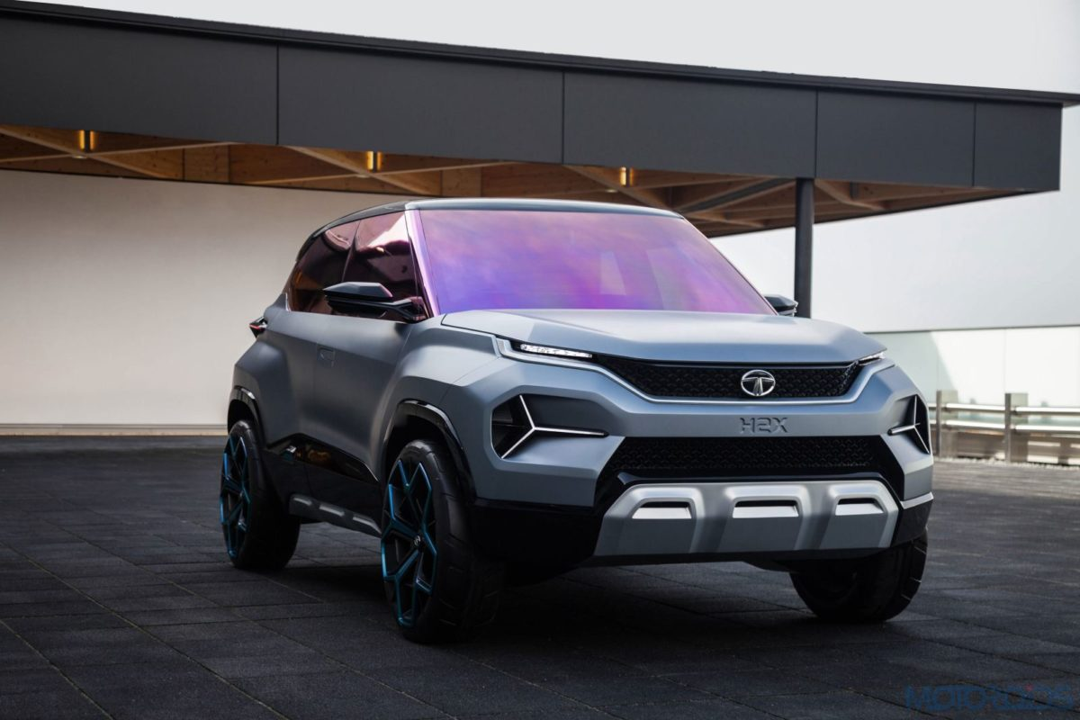 Tata H2X Concept front three quarters