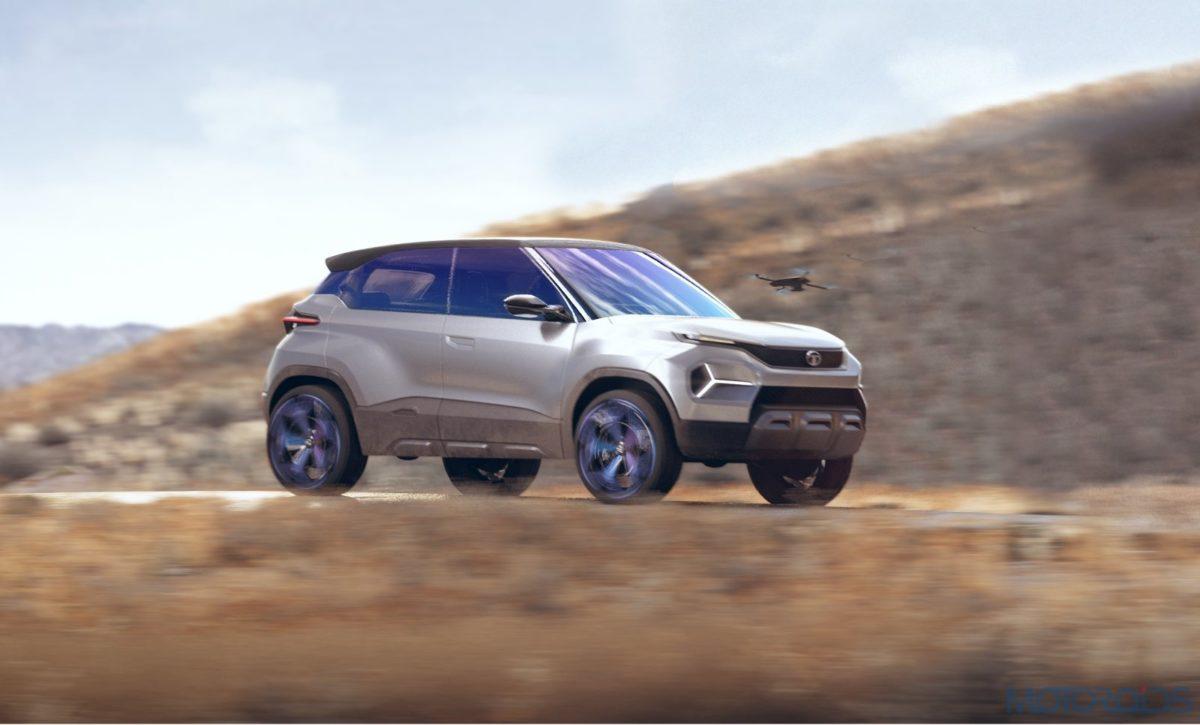 Tata H2X Concept real world