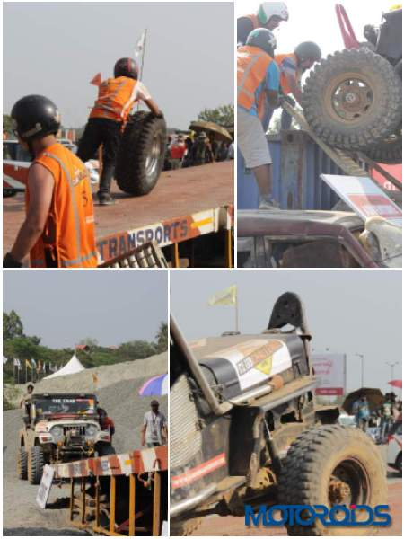 Thar Fest 2019 Destruction Derby Collage