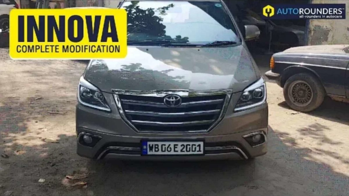 Type 1 Innova Transformation after front
