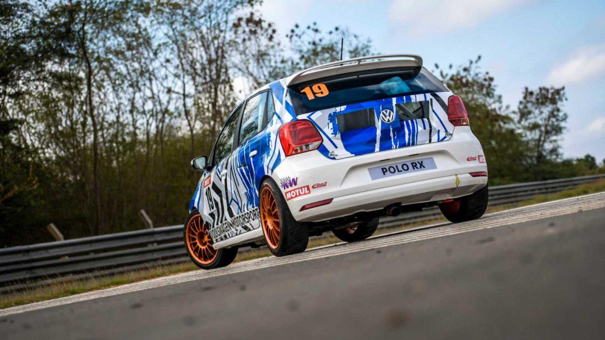 Volkswagen Polo RX rear quarter
