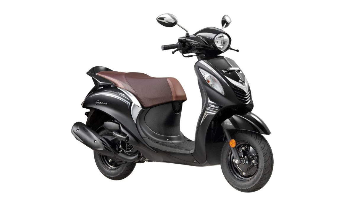 Yamaha Fascino Darknight front