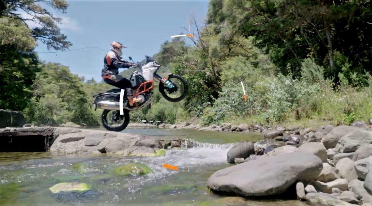 chris birch on how to wheelie an adventure bike