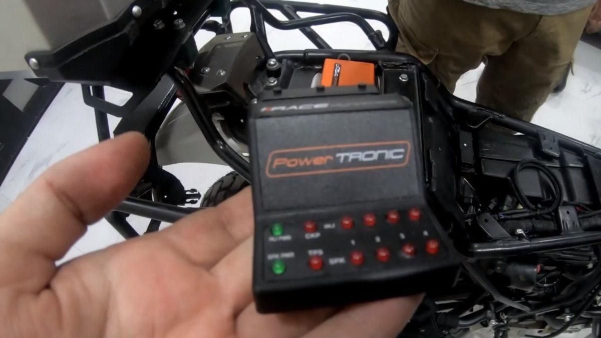 power tronic ecu for royal enfield himalayan