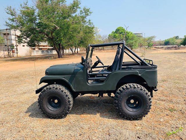 1969 Jeep CJ 5 side
