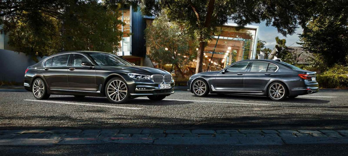 2019 BMW 7 Series Profile