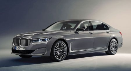 2019 BMW 7 Series Side Profile