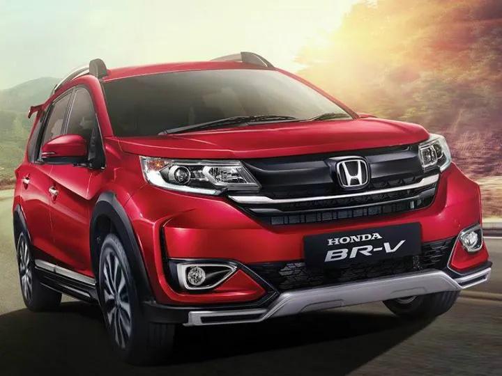 2019 Honda BR V Indonesia quarter front