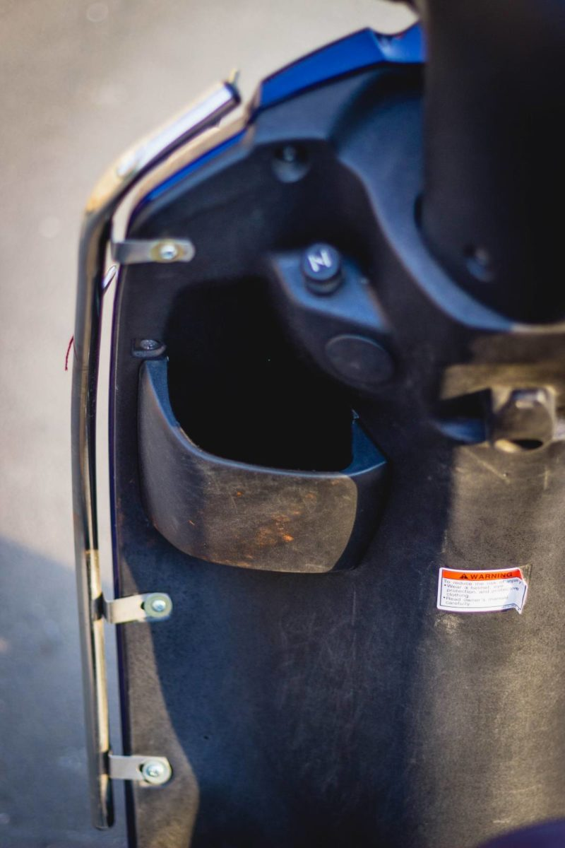 2019 Suzuki Access 125 User Review Storage compartment