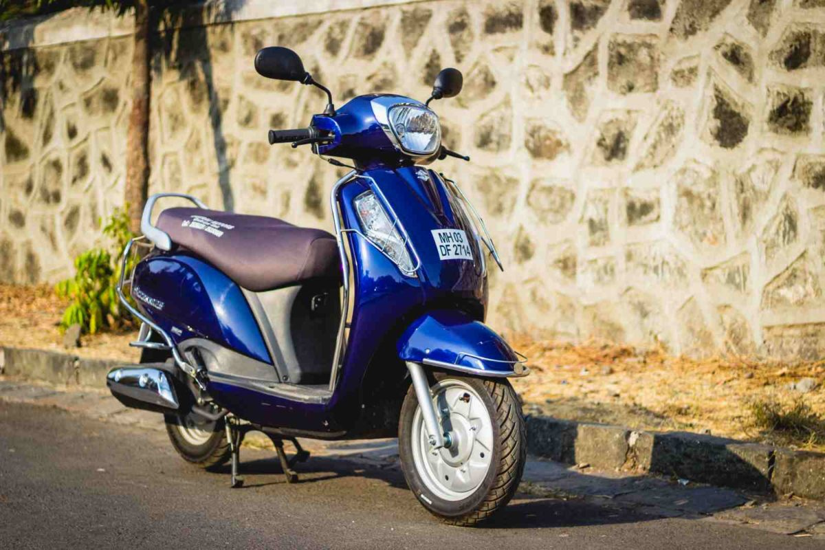 2019 Suzuki Access 125 User Review front three quarters