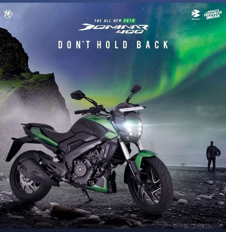 2019 bajaj dominar 400 new tagline